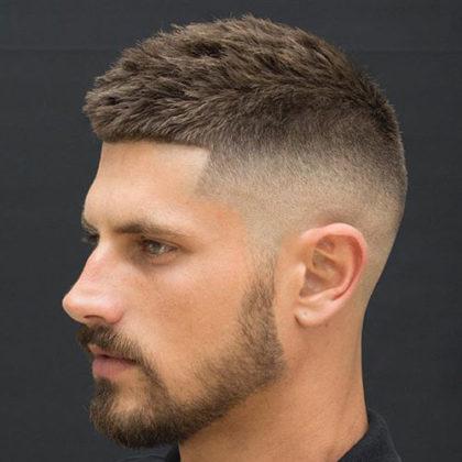クルーカット 髪型