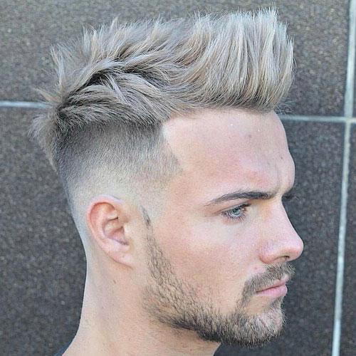 アップバング 髪型