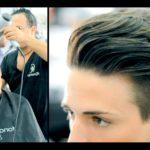 ポンパドール 髪型