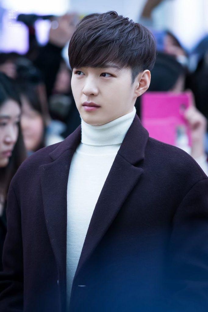 韓流ツーブロックマッシュ 髪型