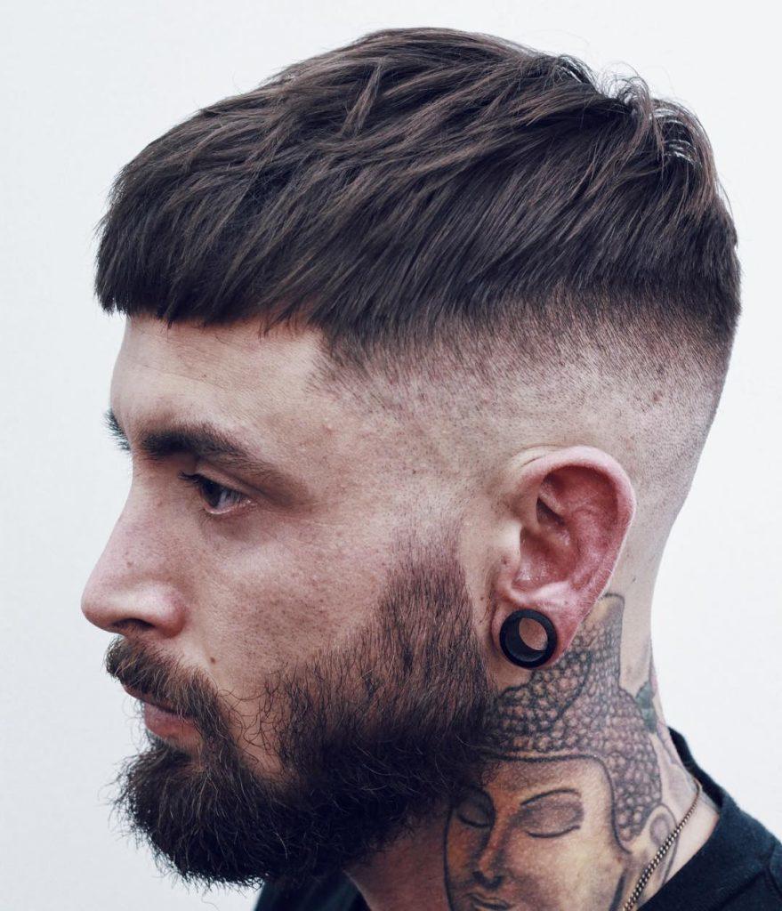 ダウンバング 髪型