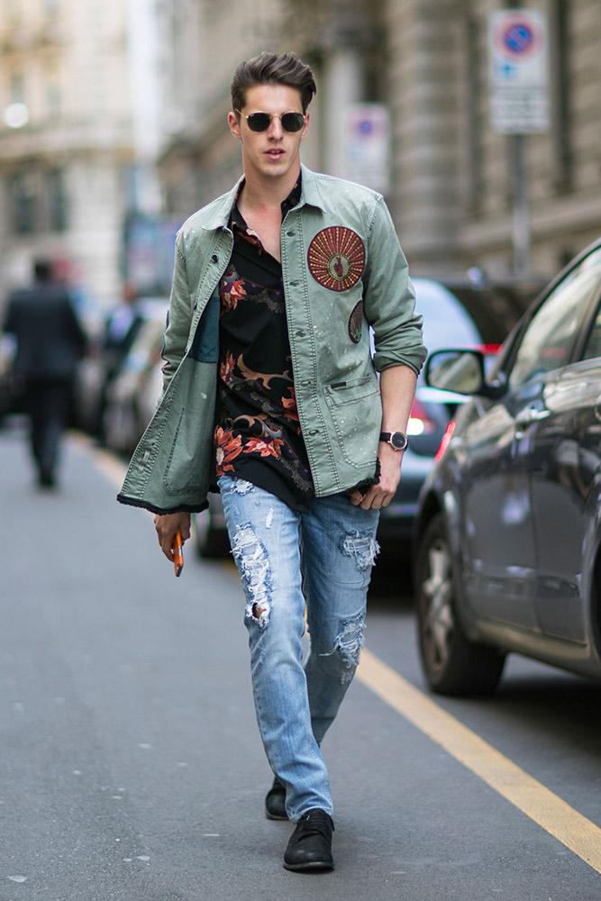 春のファッション 画像
