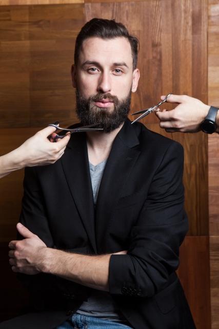 ヒゲ剃り 画像
